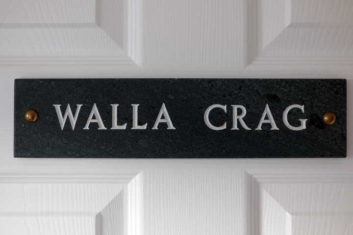 Walla crag bedroom door keswick