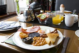 Small photo of full breakfast